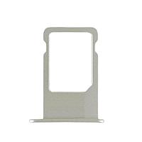 Держатель (лоток) внешний слот SIM карты лоток iPhone 6G серебряный