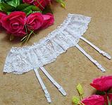 Еротична білизна Сексуальне боді Комплект білизни Пояс для панчіх. Підв'язки (розмір 44 розмір М), фото 4