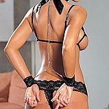 Еротична білизна.Сексуальне білизна.Еротичне боді.Еротичний комплект(розмір 46 розмір M), фото 4
