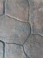 Набор добавок для печатного бетона 10кв м гранат темный (топпинг-краситель, разделитель, добавки в бетон, лак)