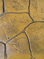 Набор добавок для печатного бетона на 10 кв м лимон (топпинг-краситель, разделитель, добавки в бетон, лак)