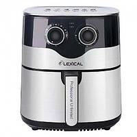 Фритюрниця Lexical LAF-3004 (8 л, 1800 Вт, знімна кошик)   аэрофритюрница електрична, аерогриль, фото 1