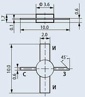 Транзистор полевой 2П341А-2
