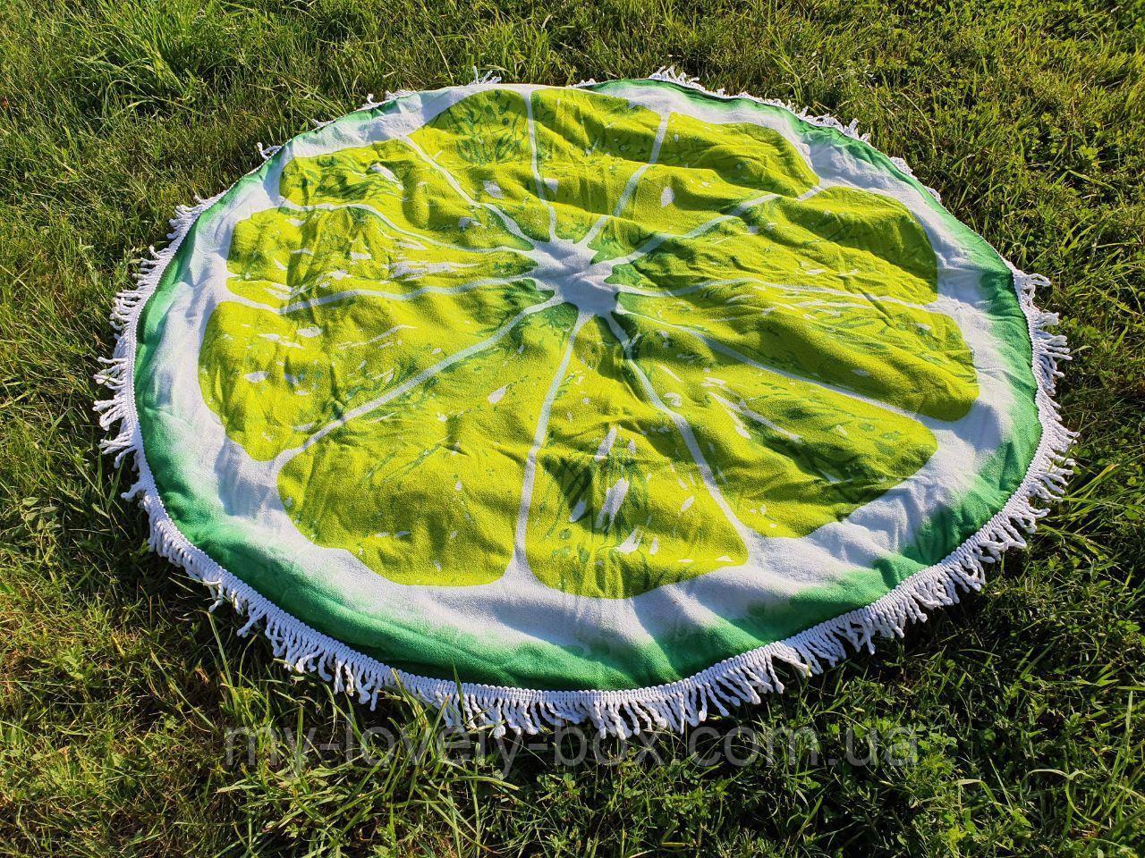 Полотенце пляжное круглое МАХРА (Арт. TPA205/1)