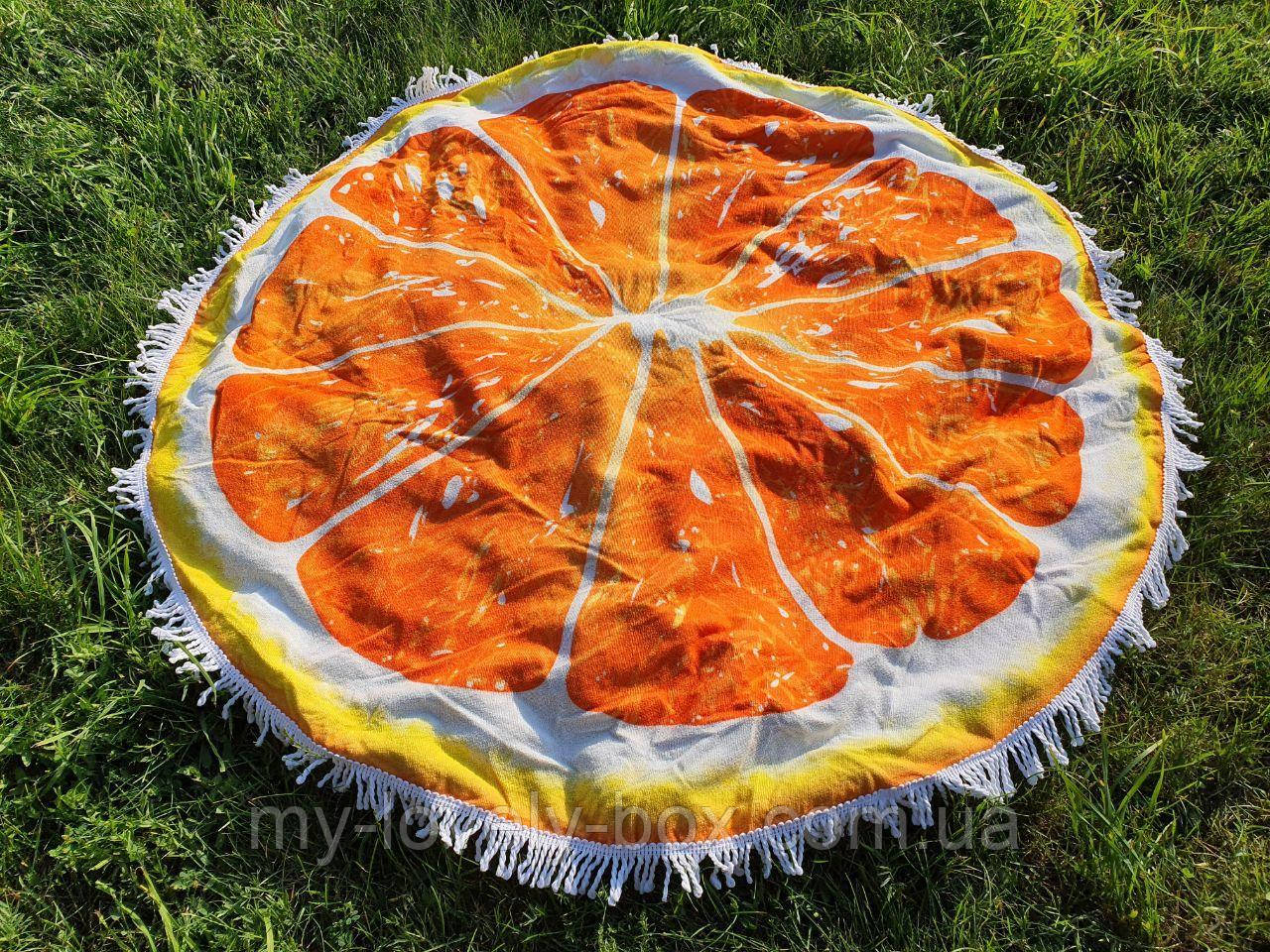 Полотенце пляжное круглое МАХРА (Арт. TPA205/6)