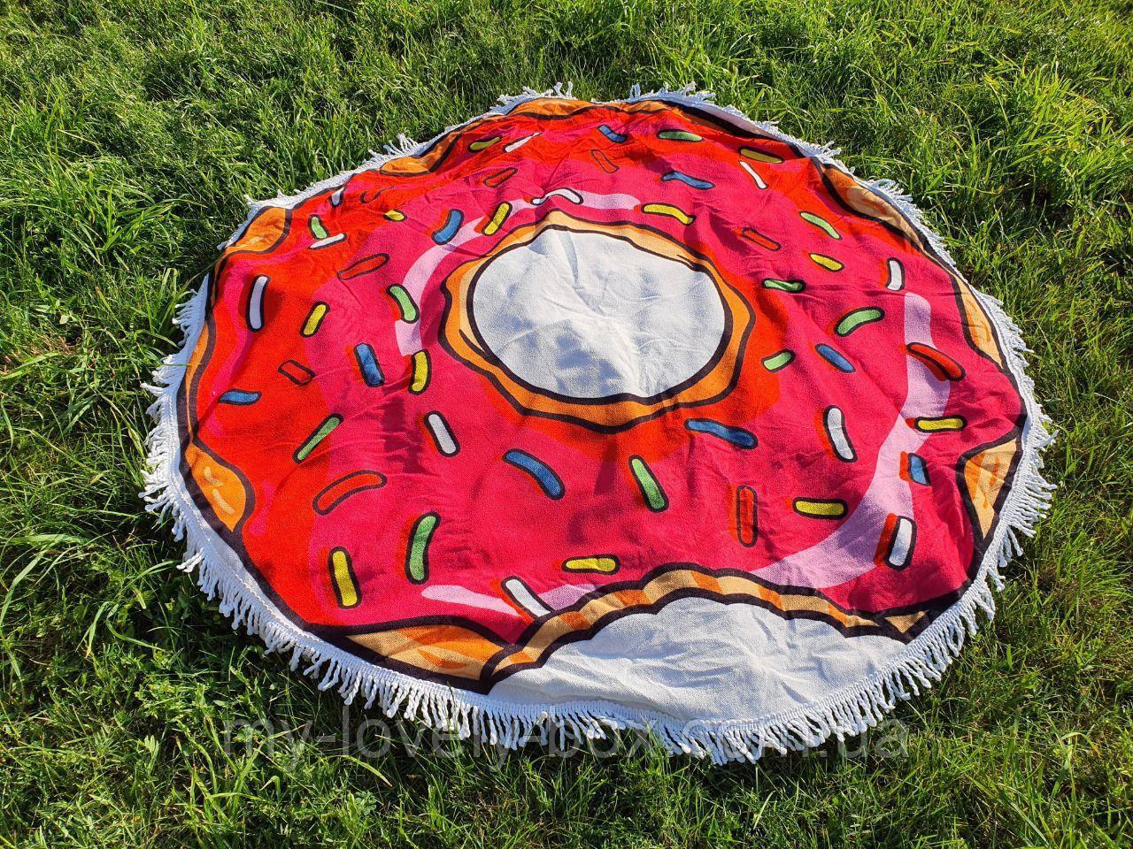 Полотенце пляжное круглое МАХРА (Арт. TPA205/8)