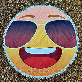 "Полотенце-коврик пляжное круглое ""Smile"" (Арт. TPA113/3)"