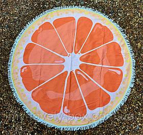 Полотенце-коврик пляжное круглое (Арт. TPA113/8)