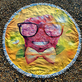 Полотенце-коврик пляжное круглое (Арт. TPA113/20)