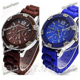 Часы Geneva Michael Kors Crystal шоколадного или синего цвета. Часы женева