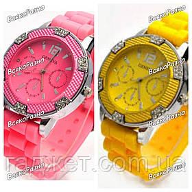 Часы Geneva Michael Kors Crystal розового или желтого цвета. Часы женева