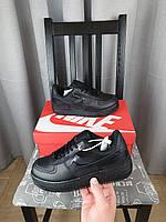 Обувь женская Nike Air Force 1 Shadow в черном цвете. Женские кроссовки Найк Аир Форсе Шедоу Блек черные 2021