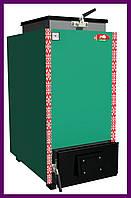 Твердопаливний котел шахтного типу Zubr Termo (Зубр Термо) 12 кВт. Сталь 5 мм, фото 1