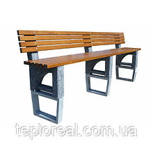 Скамейка для дачи и дома Верона-лонг антивор