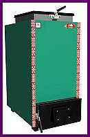 Твердопаливний котел шахтного типу Zubr Termo (Зубр Термо) 25 кВт. Сталь 5 мм, фото 1