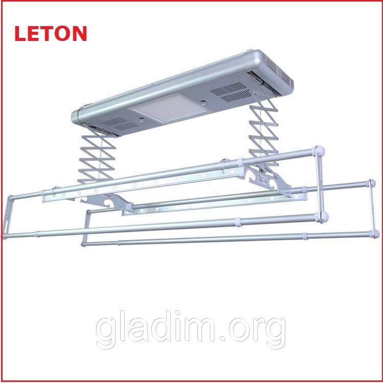 """Автоматизированная балконная сушилка для белья """"LETON 110S"""""""