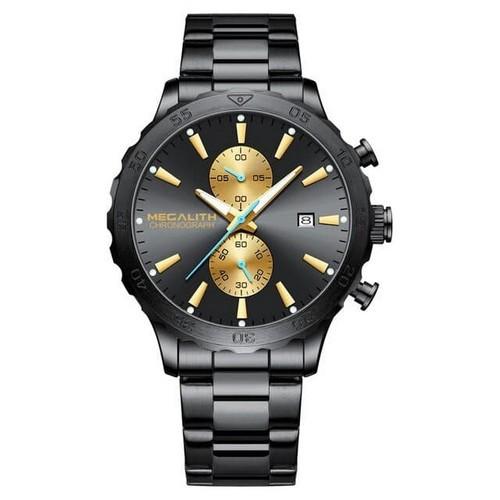 Часы мужские Megalith 8237M Black-Gold