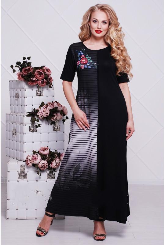 Сукня Bi-комп 9077 Бірюза