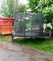 Батут спортивный для детей и взрослых, диметр 305, вес пользователя до 180 кг. TK-Sport 2921-3