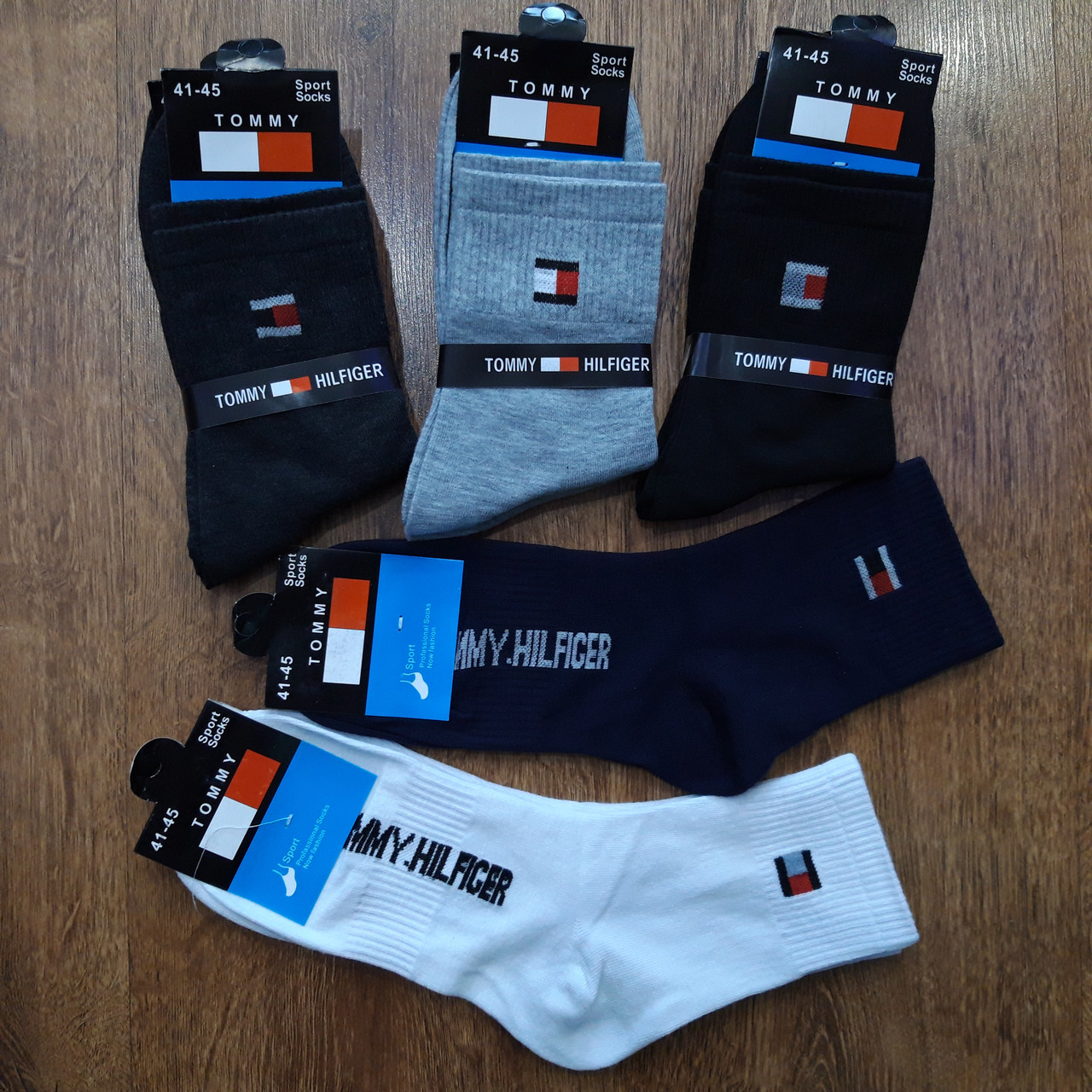 """Чоловічі стрейчеві шкарпетки в стилі """"Tommy K"""" Південна Корея 41-45"""