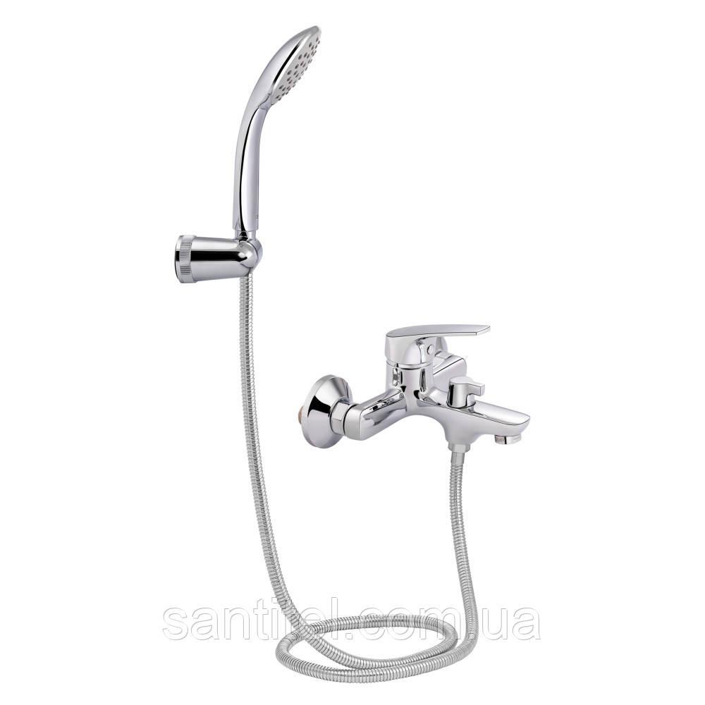 Смеситель для ванны Qtap Ortiz CRM 006 New