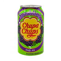 Напій газований зі смаком винограду Chupa Chups Sparkling 0.345 л