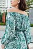 Женское летнее длинное красивое платье с открытыми плечами (42,44,46,48 ), фото 3