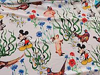 Креп шовк софт Міккі тканину для одягу