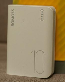 Банк заряду power bank ROMOSS Sense 4 mini 10000mAh white