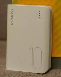 Банк заряда power bank ROMOSS Sense 4 mini 10000mAh white