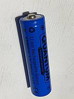 Акумулятор Qwantum 18650 3.7v 2000mAh Li-ion з клемой