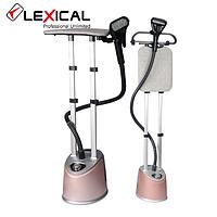 Вертикальный отпариватель для одежды Lexical LGR-1202 бежевый (2000 Вт, непрерывный пар) паровая станция, утюг