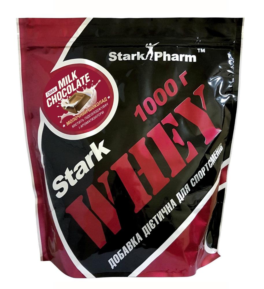 Протеїн Whey Protein Stark Pharm 1 кг Шоколад