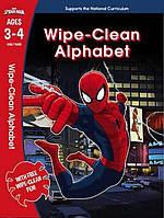 Spider-Man: Wipe-Clean Alphabet Ages 3-4