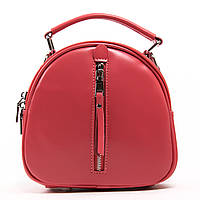 Жіноча шкіряна сумка-рюкзак А. Rai з натуральної шкіри на кожен день, компактна, фото 1