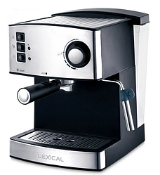 Кавоварка з капучинатором Lexical LEM-0602 (850W) | кавоварка для еспресо і капучіно з захистом від перегріву
