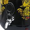 Самовар електричний LEXICAL LSV-0801 чорний (1800W) | электросамовар з керамічним заварювальний чайником, фото 2
