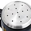 Самовар електричний LEXICAL LSV-0801 чорний (1800W) | электросамовар з керамічним заварювальний чайником, фото 4