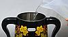 Самовар електричний LEXICAL LSV-0801 чорний (1800W) | электросамовар з керамічним заварювальний чайником, фото 8