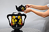 Самовар електричний LEXICAL LSV-0801 чорний (1800W) | электросамовар з керамічним заварювальний чайником, фото 10