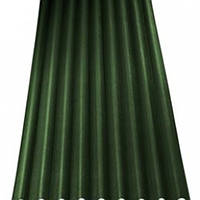 Зеленый 2,0х0,95м. Еврошифер Ondulin (Ондулин)