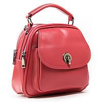 Женская кожаная сумочка-рюкзак А. Rai  из натуральной кожи на каждый день, мини рюкзак, фото 1