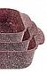 Набор противней для выпечки LEXICAL LG-740301-4 | форма для выпечки антипригарная | противень для запекания, фото 4