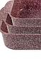 Набор противней для выпечки LEXICAL LG-740301-4 | форма для выпечки антипригарная | противень для запекания, фото 5