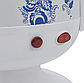 Самовар электрический LEXICAL LSV-0801 белый (1800W)   электросамовар с керамическим заварочным чайником, фото 4