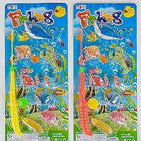 Рыбалка магнитная 555-15 А на листе, 7 рыбок
