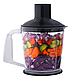 Блендер погружной Lexical LHB-1604 с чашей черный (1 л, 500 Вт) | миксер, пищевой экстрактор, измельчитель, фото 5