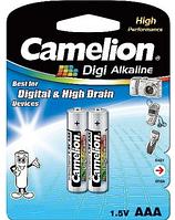 Батарейка CAMELION Digi Alkaline AAA/LR03 (2шт)