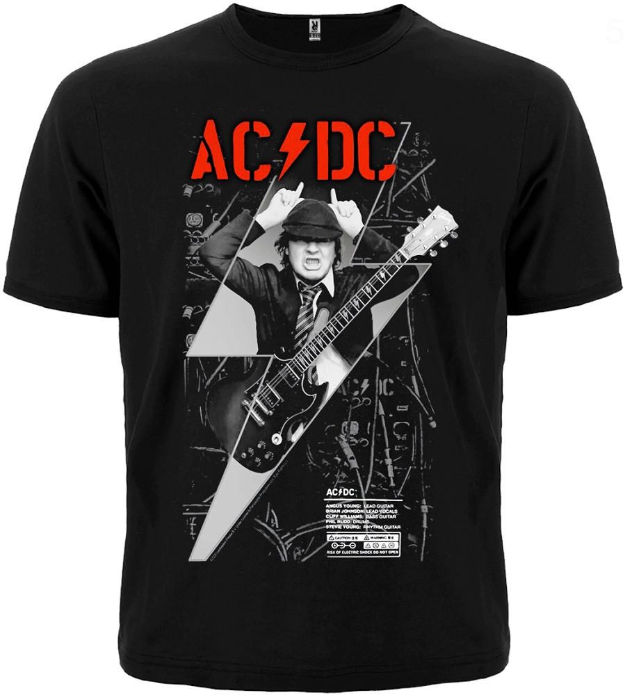 ФУТБОЛКА AC/DC (PWR UP ANGUS YOUNG)