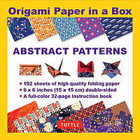 Origami Paper in a Box: Abstract Patterns
